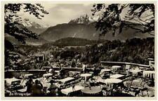 1936 BERCHTESGADEN Bayern Dt. Reich Postkarte Restaurant Café Lockstein