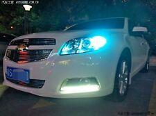 2x ice blue LED DRL Driving Daytime Running Day Fog Lamp For Chevrolet Malibu