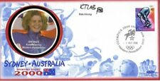 2000 Sydney Olympic Games Kate Allenby Benham Signed Commemorative Cover
