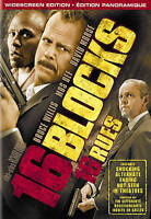 16 Blocks (DVD, 2006 Bilingual) Free Shipping In canada