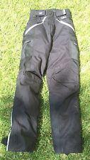 BMG Pioneer Pants British Motorcycle Gear Waterproof XS mens womens riding refle