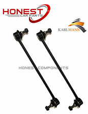 For PEUGEOT 307 2001-2009 FRONT STABILISER ANTI ROLL BAR DROP LINKS X2 Karlmann