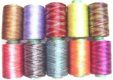10 Rainbow Variegated Rayon Embroidery Thread Strong 984Y Rm1 Gift Friend #6Hp4X