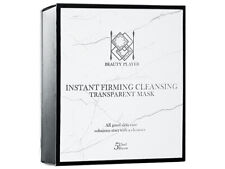 [BEAUTY PLAYER] Instant Firming Cleansing Transparent Facial Mask 5pcs/1box NEW