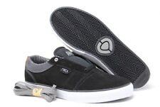 C1RCA Men's Goliath Athletic Fashion Skate Shoes Black/Frost Grey Size 10