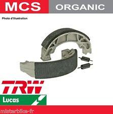 Jeu 2 Mâchoires frein Arrière TRW Lucas MCS854 Suzuki  RV 125 Van Van 03->