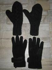 Thermo Handschuhe NEU Microfaser schwarz durchblutungfördernd Einheitsgröße