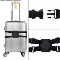 Gepäck Koffer Gummibänder Oxford Stoffgürtel Schwarz Einstellbare Reise F7O9