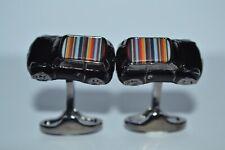 Paul Smith PS 3D Striped MINI Cufflinks Brand New