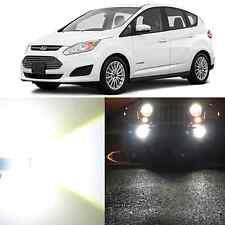 Alla Lighting Fog Light H11LL 6000K Super White LED Light Bulbs for Ford C-MAX