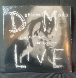 Depeche Mode-Live-Songs Of Faith And Devotion LP SILVER LIMITED RARE ! SEALED !