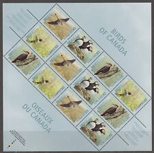 CANADA #1594iii 45¢ Birds of Canada Philatelic Pane MNH