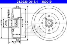 2x Bremstrommel für Bremsanlage Hinterachse ATE 24.0220-0018.1