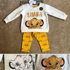 Primark Disney Baby Roi Lion gilets Pack de 2