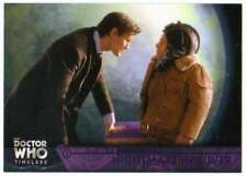 2016 Topps Doctor Who Timeless Purple Foil Parallel /50 #89 Nightmare in Silver