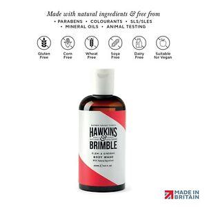 Hawkins & Brimble Body Wash - 250ml Hydrating Naturally Fragranced Bodywash