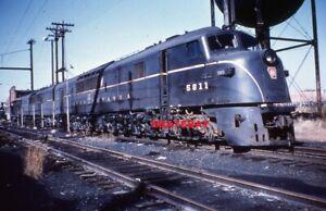 1 Duplicate Railroad Slide -  PENNSYLVANIA RR 5811 + 1
