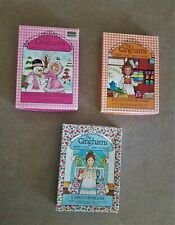 3 Vintage The Ginghams Paper Dolls & Play Sets