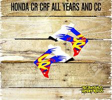 Honda CR CRF 85 125 150 250 450 Rad Cucharadas gráficos Calcomanía Pegatinas - - Motocross-MX1