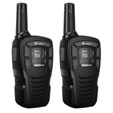 COBRA MT245 WALKIE TALKIE RADIO TWIN PACK WITH BATTERIES AND USB CHARGER
