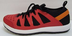 Rockport Size 9.5  Red Sneakers New Mens Shoes