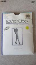 Round the Clock Girdle at the Top Pantyhose Womens B Satin Tuape Sandal Foot