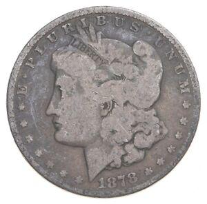 Early 1878 Morgan Silver Dollar - 90% US Coin *180