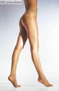 Libero Seamless Sheer to Waist Glossy Pantyhose 15 Denier Shiny Tights  CdR