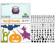 SLICE Design Card TOIL & TROUBLE NEW Making Memories RARE RETIRED Halloween