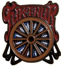 Furthur Summer Classic 2012 Wheel Spinner Pin Grateful Dead DEAD & CO