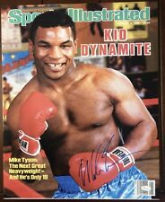 Mike Tyson signed 16x20 Sports Illustrated 1/6/1986 cover photo, JSA witnessed