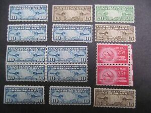 USA Nr. 300-302, 1926, Flugpostmarken, Landkarte, ungebraucht/postfrisch *CC2096