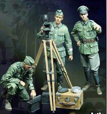 1/35 Resin Propaganda Team German 3 Soldiers Kit  Unassembled Unpainted BL664