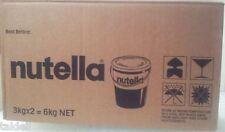 NUTELLA JAR 3KG - 2 PAILS PER CARTON Best Before Over 6 months