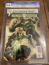 Green Lantern Emerald Warriors #1 2010 CGC 9.8 Lee Bermejo Cover