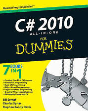C# 2010 All-in-One For Dummies by Charles Sphar, Bill Sempf, Stephen R. Davis (Paperback, 2010)