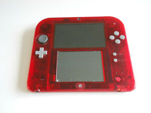 Nintendo 2DS Pokemon Omega Ruby Special Edition Console PAL FAULTY
