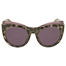 Gucci Grey Havana Burgundy Sunglasses