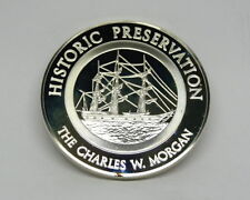 1971 Postmasters of America THE CHARLES MORGAN #9 Sterling Silver Medal Coin FM