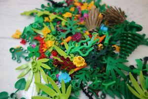 LEGO foliage 30 pcs garden accessories, plant leaves fence etc