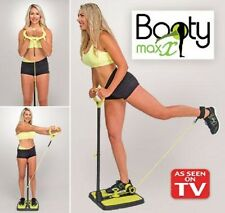 Booty Max Resistance Exerciser Band Workout Lower and Upper Body Compact Storage