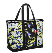 Peter Pilotto for Target X-Large Beach Tote Shoulder Bag - Yellow B&W Stripe