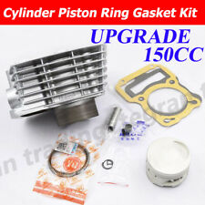150cc Big Bore 62mm Cylinder Piston Kit For Honda XR125L NXR125 BROS 13mm Pin