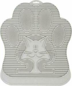 Alfombrilla de arena impermeable antideslizante Cat Paw-Cleaning para Kitty Litt