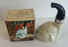 Vintage Avon Bulldog Pipe Sherlock Holmes Decanter Wild Country After Shave