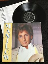 Barry Manilow - Manilow PROMO Vinyl LP Pic/Lyric Inner German RCA PL87045 (1985)