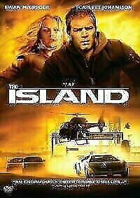 The ISLAND DVD 2005 Sci Fi Movie - SAME / NEXT DAY POSTAGE - FAST