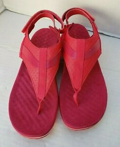 Merrell Women Pink Around Town Sandals Shoes Air Cushioned Thong 11 42 J94190