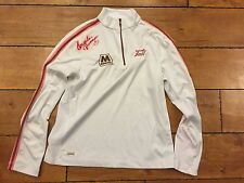 Autograph Golfer Angela Jerman Signed Shirt Tail Tech rocket tee.com