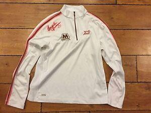 Autograph Golfer Angela Jerman Signed Shirt Tail Tech rocket tee.com